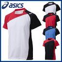 排球 - アシックス asics バレーボール XW1321 ゲーム シャツHS 半袖 ゲームウェア 吸汗速乾 UVケア