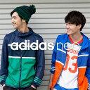 ☆【あす楽】adidas (アディダス) ジップアップパーカー BCN63 スポーツカジュアル フード付き ストレッチ性 90s スタイル レトロ アディダスネオ NEO アウター【メンズ】