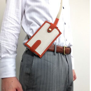 【ネコポス便】スマホポシェット Ari strap iPhone6ケース ボディバッグ型ストラップ