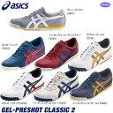 アシックス ユニセックス GEL-PRESHOT CLASSIC 2 スパイクレス ゴルフシューズ ...