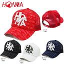 本間ゴルフ メンズ Dancing HONMA メッシュキャップ 731-419603 [2017年モデル] ゴル