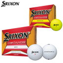 ダンロップ SRIXON DISTANCE スリクソン ディスタンス ゴルフボール 1ダース (12球入り) [2018年モデル] 【あす楽対応】 [有賀園ゴルフ]