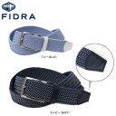 フィドラ メンズ ゴムメッシュ ベルト FDA0473 ゴルフ