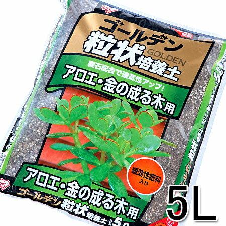 ゴールデン粒状培養土 アロエ・金の成る木用 5L GRB-AK5 P01Jul16