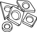 【サンドビック】サンドビック シム 179.3858[サンドビック パーツ切削工具旋削・フライス加工工具ホルダー]【TN】【TC】 P01J...