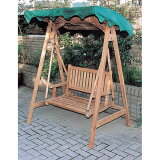 ミニスイングラブベンチ チーク 20702[ベンチ ベンチ 木製ベンチ 屋外 ガーデンベンチ ベンチ チェア 木製ベンチ]【TD】【JB】※代引不可【TD】
