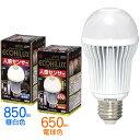 ≪高輝度タイプ≫エコハイルクス人感センサー付LED電球 一般電球型 LDA9N-H-S1・LDA8L-H-S1 (昼白色:850lm/電球色:650lm)