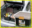 収納ボックス RVBOX 400 カーキ/ブラック[屋外 収納 RVボックス 工具ケース 工具箱 キャンプ アウトドア 釣り BBQ 洗車 収納 アイリスオーヤマ ストッカー バイク ボックス 軽トラック 荷台 トランク 椅子 コンテナボックス] P01Jul16