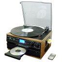 多機能プレーヤー RTC-29送料無料 レコード カセット CD 録音可能 レコードCD レコード録音可能 カセットCD CDレコード 録音可能レコード CDカセット DEAR LIFE 【D】