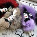 ショッピングチャーム バービー ドール バッグチャーム キーホルダー 人形 1413900 BASARA TYO(バサラ)【店頭受取対応商品】