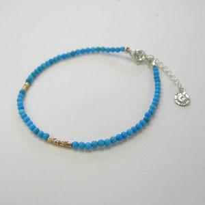 K10 Arabesque beaded turquoise Bracelet (Lady's)