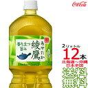 【送料無料 関東限定】 綾鷹 2L × 12本 (6本×2ケース)ペットボトル 緑茶 お茶 コカ