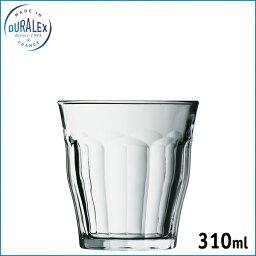 デュラレックス DURALEX ピカルディ 310ml タンブラー 1130 全面物理強化ガラスなので、衝撃強度は従来のガラス製品の2.5倍!温度差は120℃までOK!キズには弱いので注意してください
