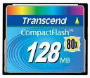 トランセンドの高速CFカード! 【128MB】トランセンド 80倍速 コンパクトフラッシュカード(メ... ...