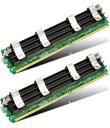 240Pin DDR2 ECC FB DIMM 667MHz【4GB(2GBx2個)】Apple Mac Pro用メモリー(対応機種は必ずご確認下さい)