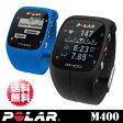 【POLAR(ポラール)】M400 POLAR GPSマルチスポーツ ウォッチ 「Polar M400(ブラック/ブルー)」【送料無料】【国内正規品】
