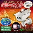 人感センサー 明暗センサー ソーラーバッテリー付 防雨タイプ ダミーカメラ「OS-173F」【10P03Dec16】
