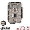 Bushnell(ブッシュネル)正規品 トレイルカメラ 人感センサー搭載 白黒テキストLCD内蔵 屋外型センサーカメラ トロフィーカム HD3 エッセンシャル BTR-HD3-L