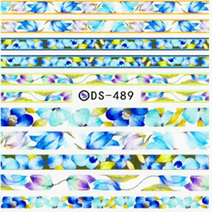 ウォーターネイルシール 【DS-489】 【メー...の商品画像