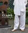 CLANE / クラネ : 【レディース】TINT EBRU TUCK PANTS : ティント エブル タックパンツ パンツ レディース : 18110-7001 【ANN】