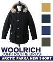【スマホエントリーポイント10倍!】WOOLRICH[ウールリッチ] / ARCTIC PARKA NEW SHORT / 全5色(ダウン ジャケット ニュー アークティック パーカー) WOCPS2393-8515【MUS】