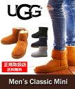 【期間限定ポイント10倍!】UGG(アグ) / M Classic Mini[全4色](クラシックミニ メンズ MEN ショートブーツ シープスキン)1002072【PIE】