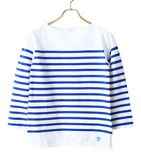 ORCIVAL (或隨團) 法國水手 t 恤 / 2 顏色 (T 襯衫邊框奧修欄或隨團,棉條紋法國水手) RC 6803