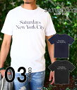 SATURDAYS SURF NYC (サタデーズサーフ NYC) / Miller Standard T-SHIRTS / 全3色 (T-シャツ カットソー ...