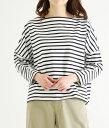 Traditional Weather Wear / トラディショナルウェザーウェア : BIG MARINE BOATNECK SHIRT / 全2色 : ビッグ マリン ボートネック ..