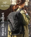 ARC'TERYX [ アークテリクス ]  /  Mantis 26L Daypack -Black II- (リュック マンティス26L バックパック ディパック リュック バ...