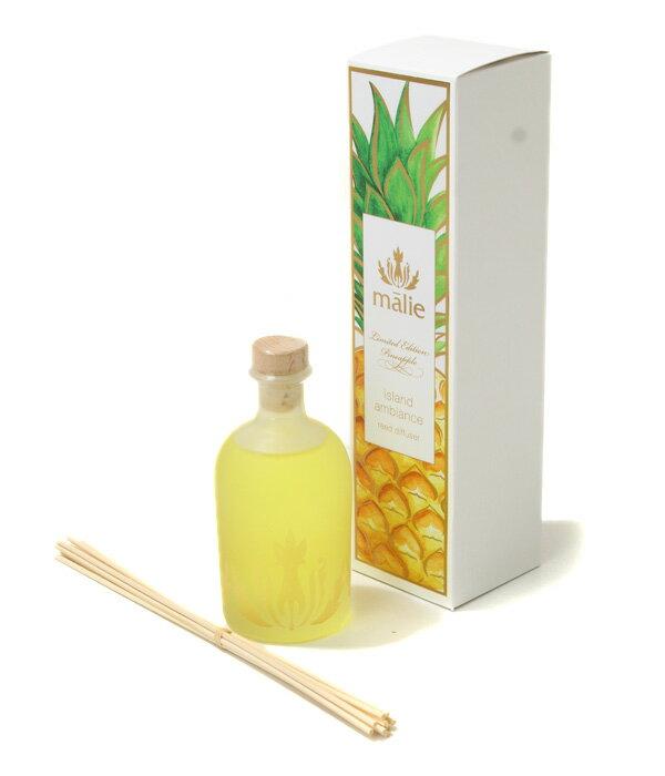 【全品送料無料!】Malie organics [マリエオーガニクス] / ディフューザー / Reed Diffuser Pineapple(リードディフューザー パイナップル 消臭剤 芳香剤) 35464-73-106【DEA】