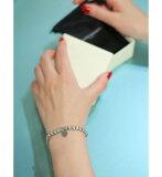 PHILIPPE AUDIBERT [フィリップオーディベール] / Petit Coeur Metal Bracelet silver color (ハート型 ブレスレット シルバー ジュエリー レディース ブレス) BR3861【ANN】
