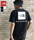 【残りわずか!】THE NORTH FACE / ノースフェイス ザ・ノースフェイス : S/S Square Logo Tee : スクエア ロゴ Tシャツ メンズ : NT32038 【WAX】