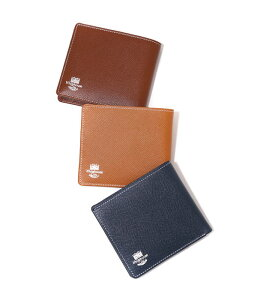 Whitehouse Cox (ホワイトハウスコックス) / NOTECASE WALLET(London Calf×Bridle Leather Collection) (二つ折り財布 ウォレット ギフトラッピング可能)S-8772-LONDONCALF-BLC【MUS】