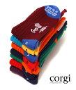 【レビューを書いて1万円当たる】CORGI [ コーギー ]Midium Socks HEEL&TOE (ソックス 靴下) corgi-museum-01 【MUS】【楽ギフ_包装】