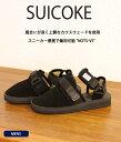 SUICOKE [ スイコック ] / NOTS-VS -BLK- 【サンダル】 (約25cm〜28cm) /(メンズ ストラップ サンダル ビブラムソール Vibram)OG-061-VS-BLK【MUS】