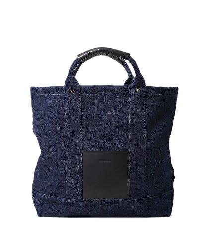 Hender Scheme [エンダースキーマ] /campus bag small -denim- / (キャンパスバッグスモール デニム インディゴ トートバッグ ショルダーバッグ カバン 鞄)y-rb-cbs-denim【BJB】