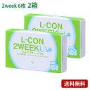 エルコン2ウィークUV2箱セット 【 コンタクトレンズ シンシア 2週間使い捨て 6枚入 】