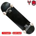 【スケボー/スケートボード/完成品】【送料無料】ブランク SUPER HARD ブラック VENTURE TRUCK × SPITFIRE WHEEL コンプリートセット 7.5 or 7.75 or 8 or 8.25インチ / 初心者 はじめて ストリート sk8 skateboard