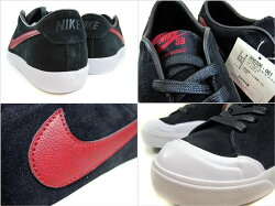 ������̵����NIKEZOOMALLCOURT/061��black×teamred-white]/�ʥ���SB