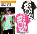 【SALE】THUNDERBOX(サンダーボックス)/NEON NEEDLE WARRIOR/半袖Tシャツ