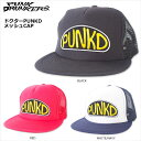 【SALE】PUNK DRUNKERS(パンクドランカーズ)/ドクターPUNKDメッシュCAP