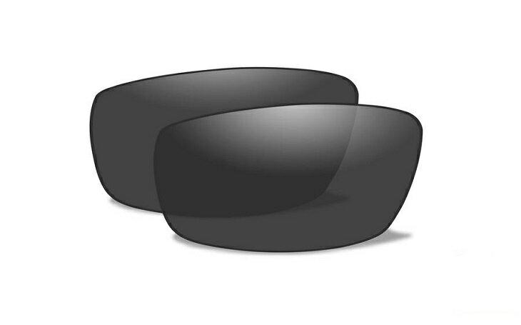 【Wiley X正規販売店】ワイリーエックス/VALOR ヴァロー WX01J サングラス 交換レンズ スモーク(レンズのみ)
