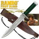 【ポイント最大16倍】ランボー 1/RAMBO I ファーストブラッド サバイバルナイフ RB1 シルベスター・スタローンサイン入り 10000本限定品