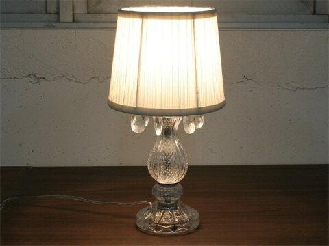 テーブルライト スタンド照明 テーブルランプ アンティーク レトロ おしゃれ 照明器具 卓上 テーブルスタンド デスクライト 洋風 モダン ロマンチック 姫 大人カワイイ 寝室 間接照明 バロックグラススタンド 北欧 Baroque-glass stand 電気