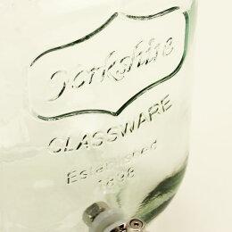 ドリンクディスペンサーガラス瓶蛇口付きおしゃれドリンク注ぐ保存容器瓶ビンガラス飲料ディスペンサー梅酒瓶ピッチャー漬ける容器サングリアYORKSHIREMASONJARDRINKDISPENSERヨークシャーメイソンジャードリンクディスペンサー