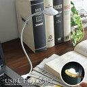 デスクライト USB ライト ブックライト 読書灯 照明 電...