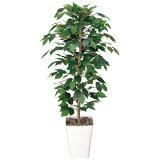 光触媒 観葉植物 造花 インテリア グリーン イミテーショングリーン 植物 人工観葉植物 リビング おしゃれ オフィス フィカスベンジャミン 高さ120cm アートグリーン  消臭