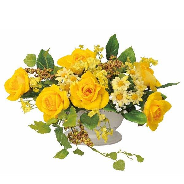 光触媒花造花バラミニフラワーローズアートフラワーフラワーアレンジメントリビングアレンジフラワー薔薇ば