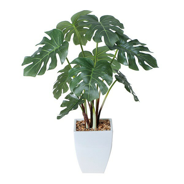 光触媒消臭抗菌造花観葉植物人工観葉植物モンステラインテリアグリーン卓上テーブル鉢フェイクグリーンフェ